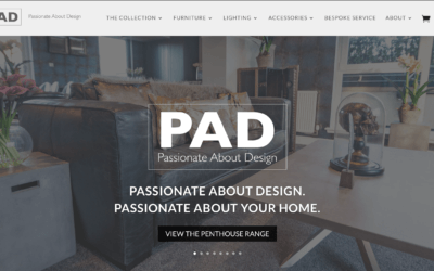 Passionate About Design Website Launch