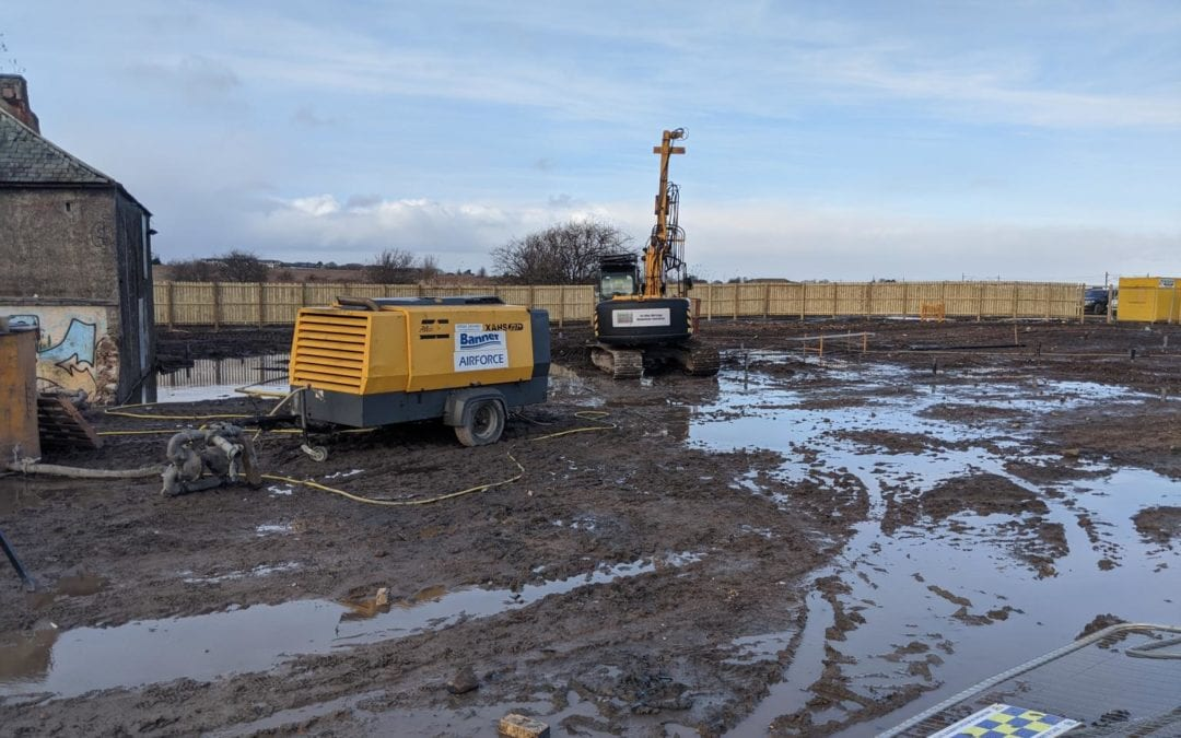 Groundworks at Newcraighall begin